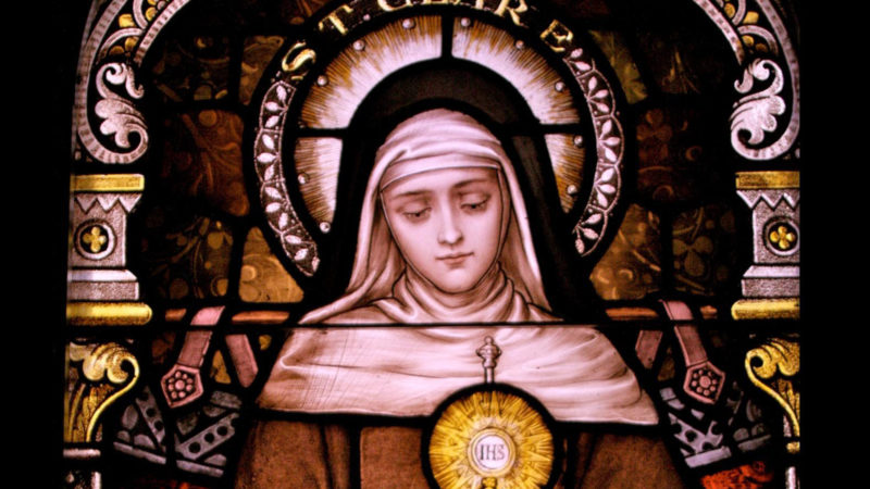 Image result for st clare of assisi
