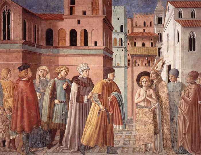 Francis of Assisi renouncing father