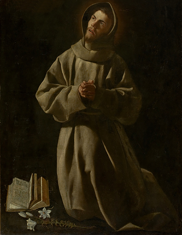 painting of St Anthony