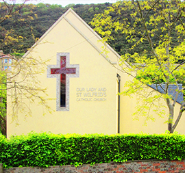 Our Lady and St Wilfrid's Roman Catholic Church at Ventnor, Isle of Wight
