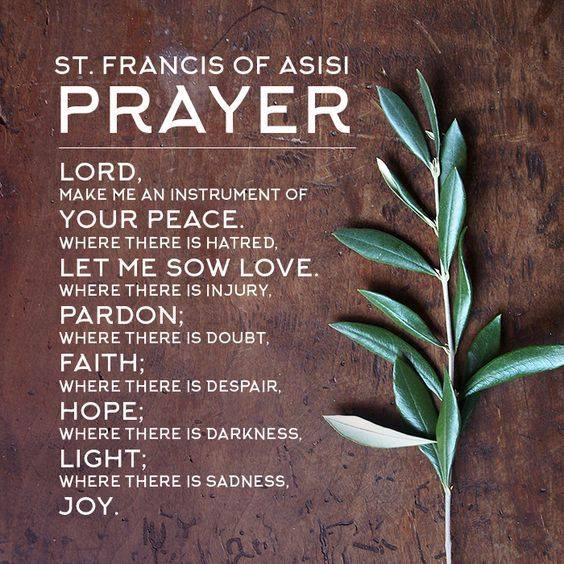 Franciscan Peace Prayer