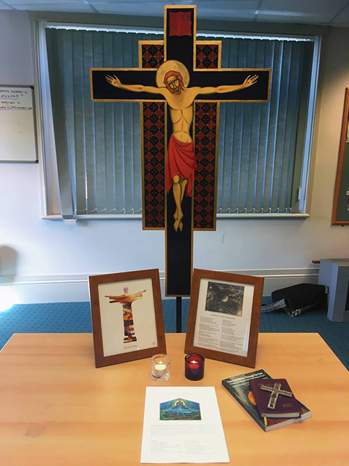 Crucifix Franciscan Group Isle of Wight McAuly Centre