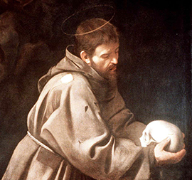 St Francis by Francisco de Zurbaran